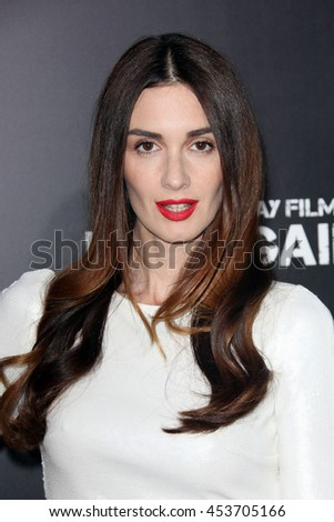 Hollywood, California, USA; April 22, 2013; Paz Vega arrives to the premiere of Pain & Gain in Hollywood, California.