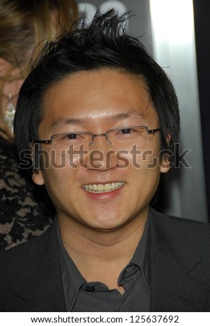 "HOLLYWOOD - DECEMBER 13: Masi Oka at the world premiere of ""Rocky Balboa"" on December 13, 2006 at Grauman's Chinese Theatre, Hollywood, CA."