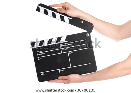 Hollywood Film Production - stock photo