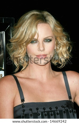 HOLLYWOOD - 7 MARCH: Charlize Theron at the Sleepwalking Premiere held at the Directors Guild of America, Hollywood.