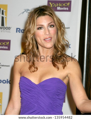 HOLLYWOOD - OCTOBER 24: Jennifer Esposito participates at Hollywood Film Festival Gala in Beverly Hilton Hotel October 24, 2005 in Los Angeles, CA.