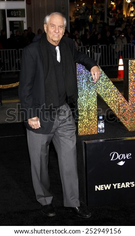 "HOLLYWOOD, USA - DECEMBER 5: Garry Marshall at the Los Angeles Premiere of ""New Year's Eve"" held at the Grauman's Chinese Theatre in Los Angeles, USA on December 5, 2011. - stock photo"