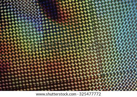 holographic pattern blur - stock photo