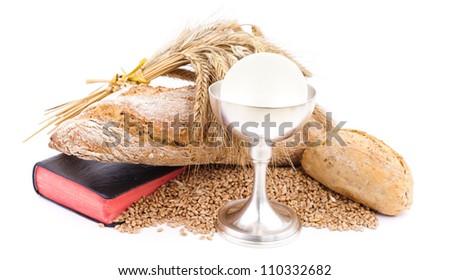holy bread - stock photo
