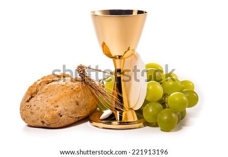 holy communion  - stock photo