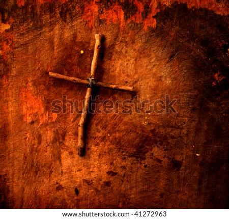 Holy cross - stock photo
