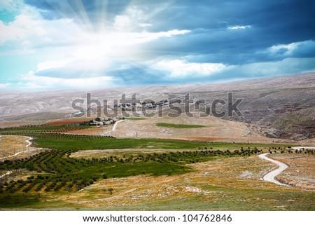 Holy Land - stock photo