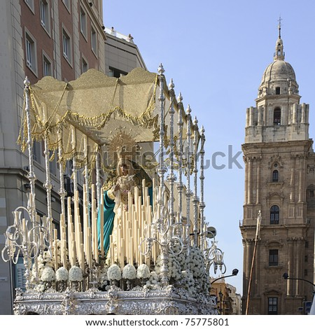 holy week in Malaga