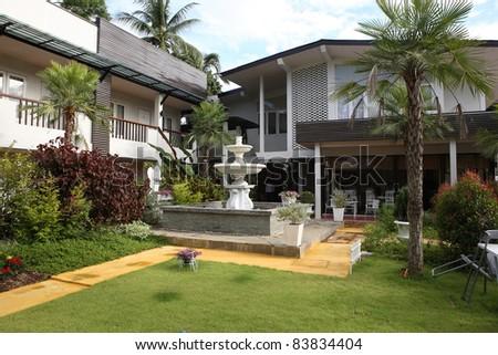 Home and garden - stock photo