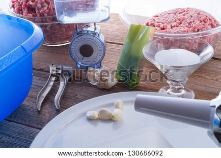 home-baked - stock photo