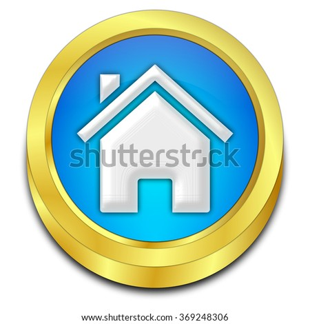 Home Button - stock photo