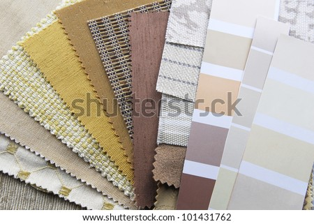 home decoration repair upholstery planning - stock photo