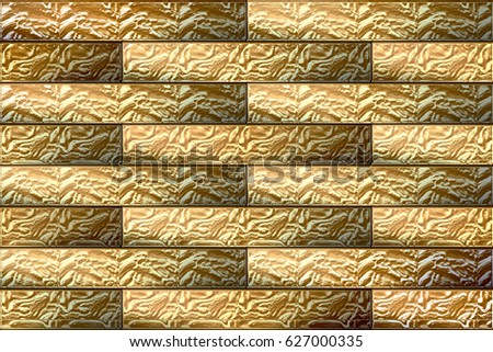 Home Decorative Brick Type Wall Tiles Stock Illustration 627000335 ...