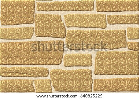 Home Decorative Elevation Wall Tiles Design Stock Illustration ...