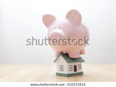 Home finances  - stock photo