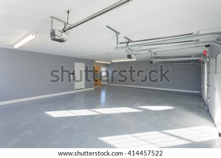 Home Garage Interior - stock photo
