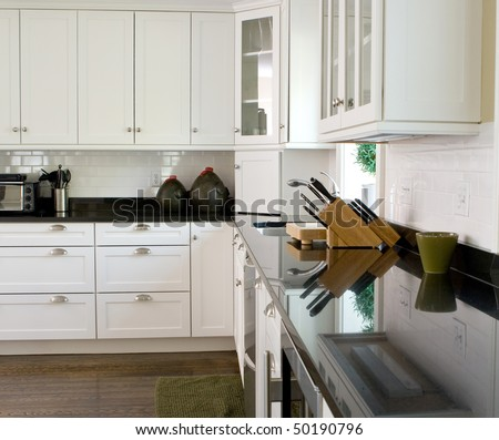 Home Interior-Kitchen - stock photo