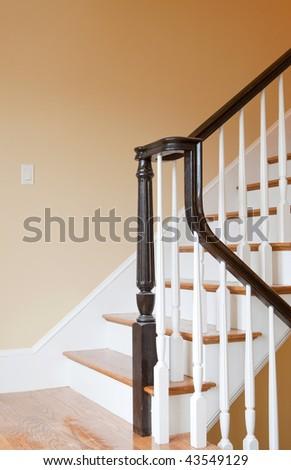 Home Interior Stairs - stock photo