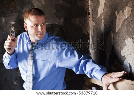 Home Invasion - stock photo