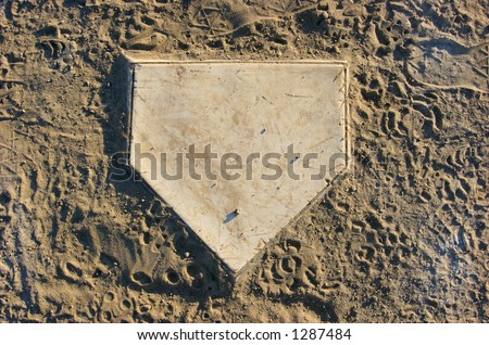 Home Plate - stock photo