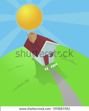 Home sweet home - stock photo