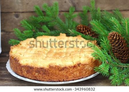 Homemade  Apple Pie - stock photo