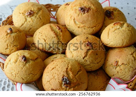 Homemade cookies - stock photo
