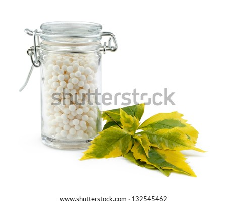 Homeopathic Medicine - stock photo
