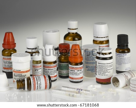 Homeopathy - stock photo