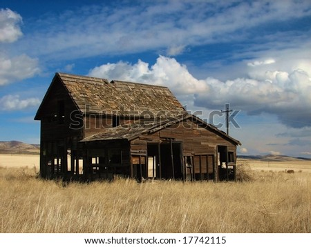 Homestead - stock photo