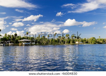 Homosassa River - stock photo
