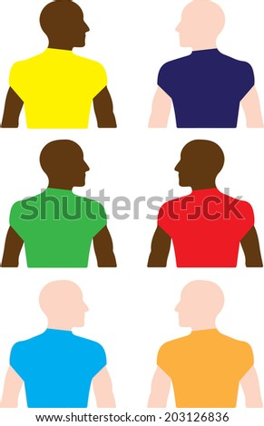 Homosexuality and Race - stock photo