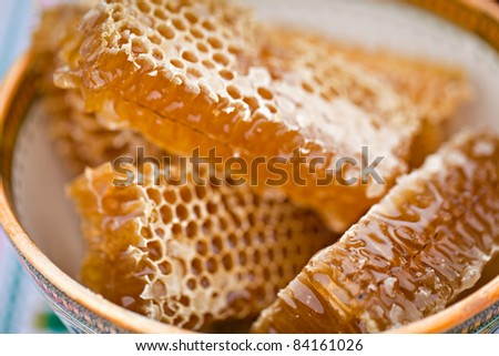 honey - stock photo