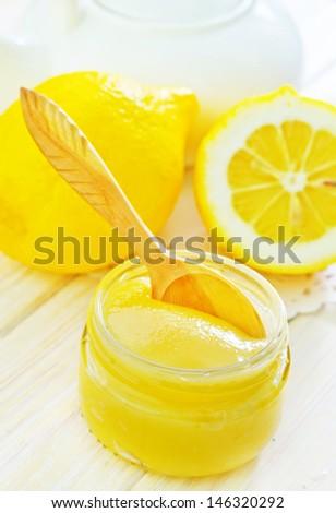 honey and lemons - stock photo