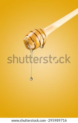 Honey Drip - stock photo