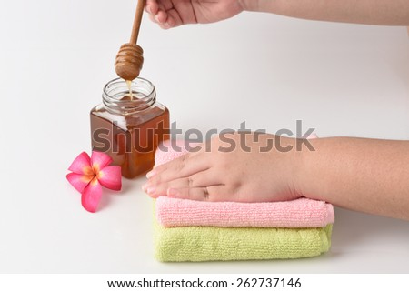 Honey Skin. - stock photo