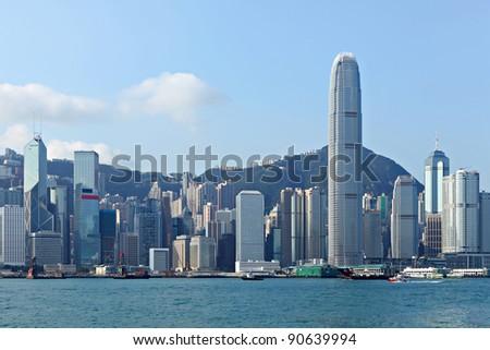 Hong Kong - stock photo