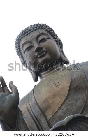 Hong Kong Budha - stock photo