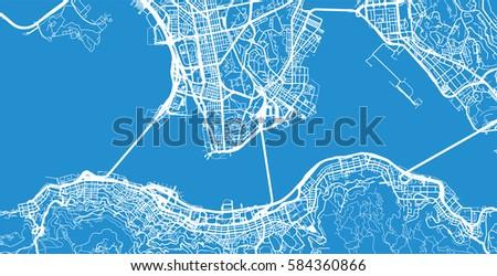 Hong kong vector city map vectores en stock 584361361 shutterstock hong kong city map gumiabroncs Gallery