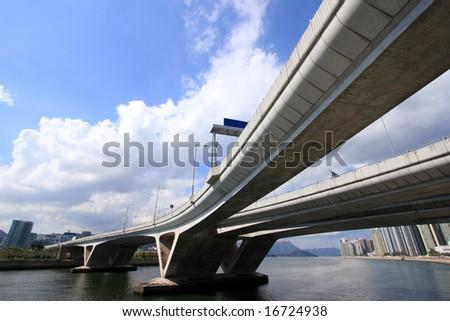 Hong Kong Highway - stock photo