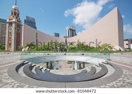 Hong Kong landmark - stock photo
