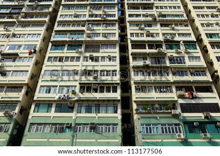 Hong Kong old building