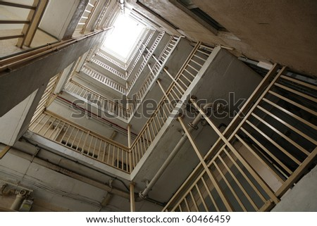 Hong Kong public housing apartment - stock photo