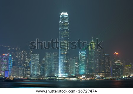 Hong Kong's amazing skyline
