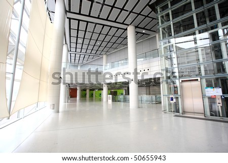 Hong Kong train station - stock photo