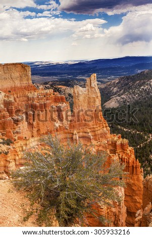 Hoodoos Bryce Point Bryce Canyon National Park Utah