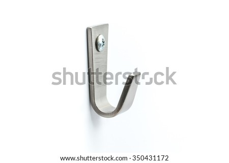 Hook, Strong Steel Wall Hanger.
