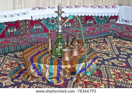 hookah - stock photo