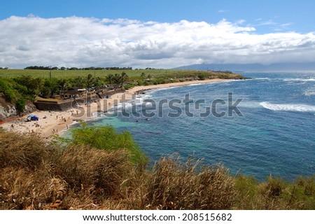 Hookipa Beach Maui - stock photo