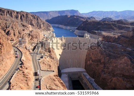 Hoover Dam in Colorado, USA